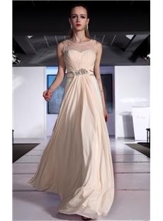 Scoop Neckline Floor-Length Pearls Dresses.jpg